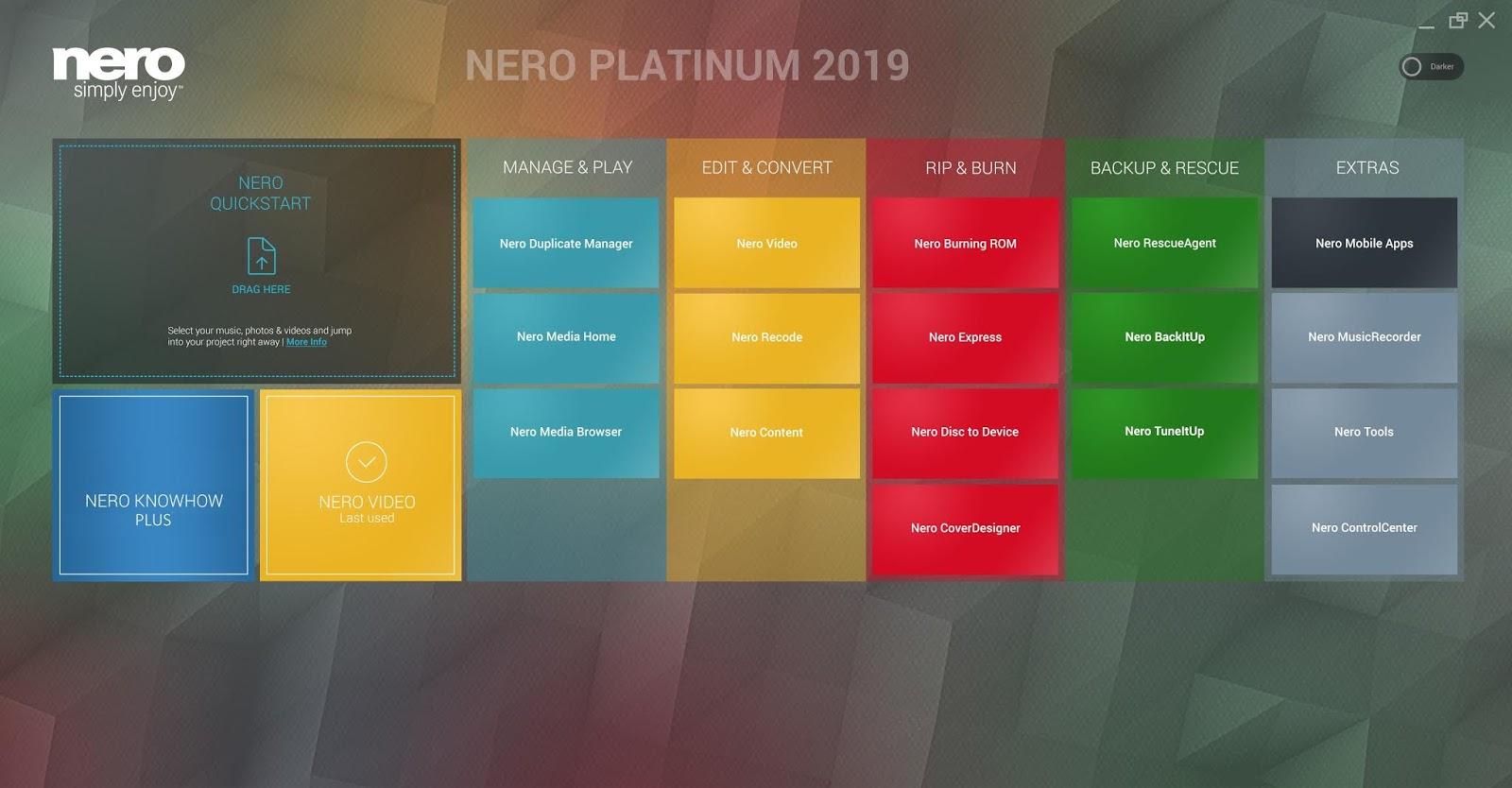 nero 2018 platinum suite serial number