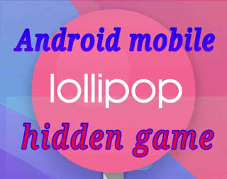 Android mobile hidden game 1