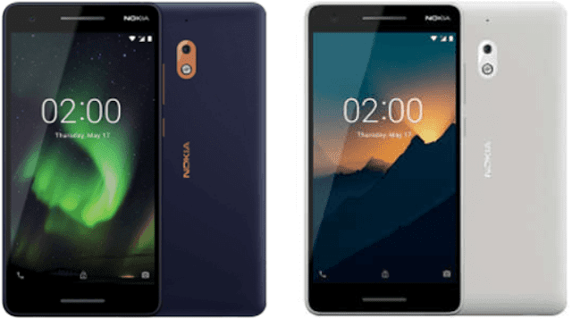 nokia 2.1 and 3.1 smartphones