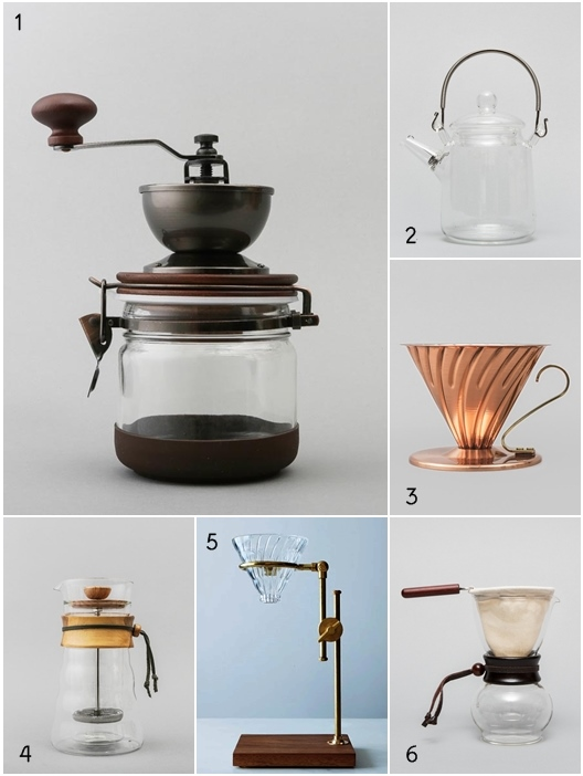 Hario Coffee and Tea Brewing Tools