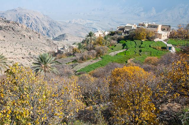 قرية وكِان الجميلة عُمان