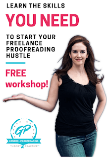 work from home as a proofreader