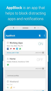 AppBlock – Stay Focused v2.1 Paid  APK