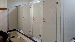 Cubicel Toilet Pvc Board - Surabaya