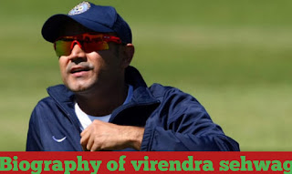 Biography of virendra sehwag in Hindi,  virendra sehwag