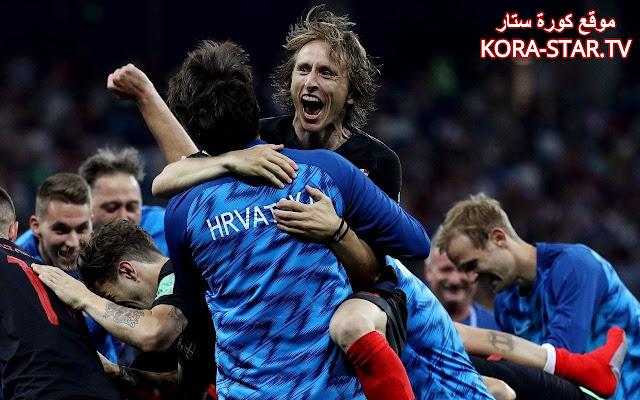 منتخب كرواتيا مودريتش كأس العالم 2018