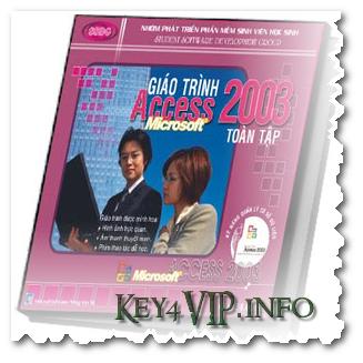 Giáo trình tiếng Việt học MS Access SSDG 2003 gồm Ebook và Video