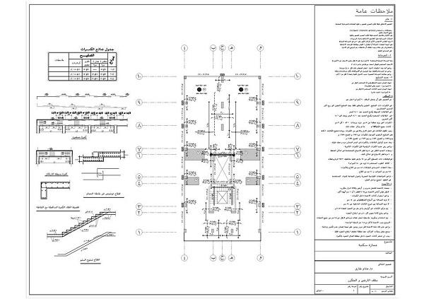 رسومات لمشروع إنشاء عماره كامل 4 أدوار بالأرضي| Appartment DWG