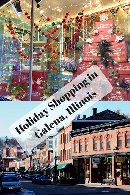 Holiday Shopping and Exploring Small Businesses in Historic Galena, Illinois