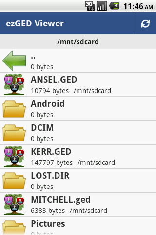 Using ezGED's file manager (updated for 1 0 1) ~ GenApps