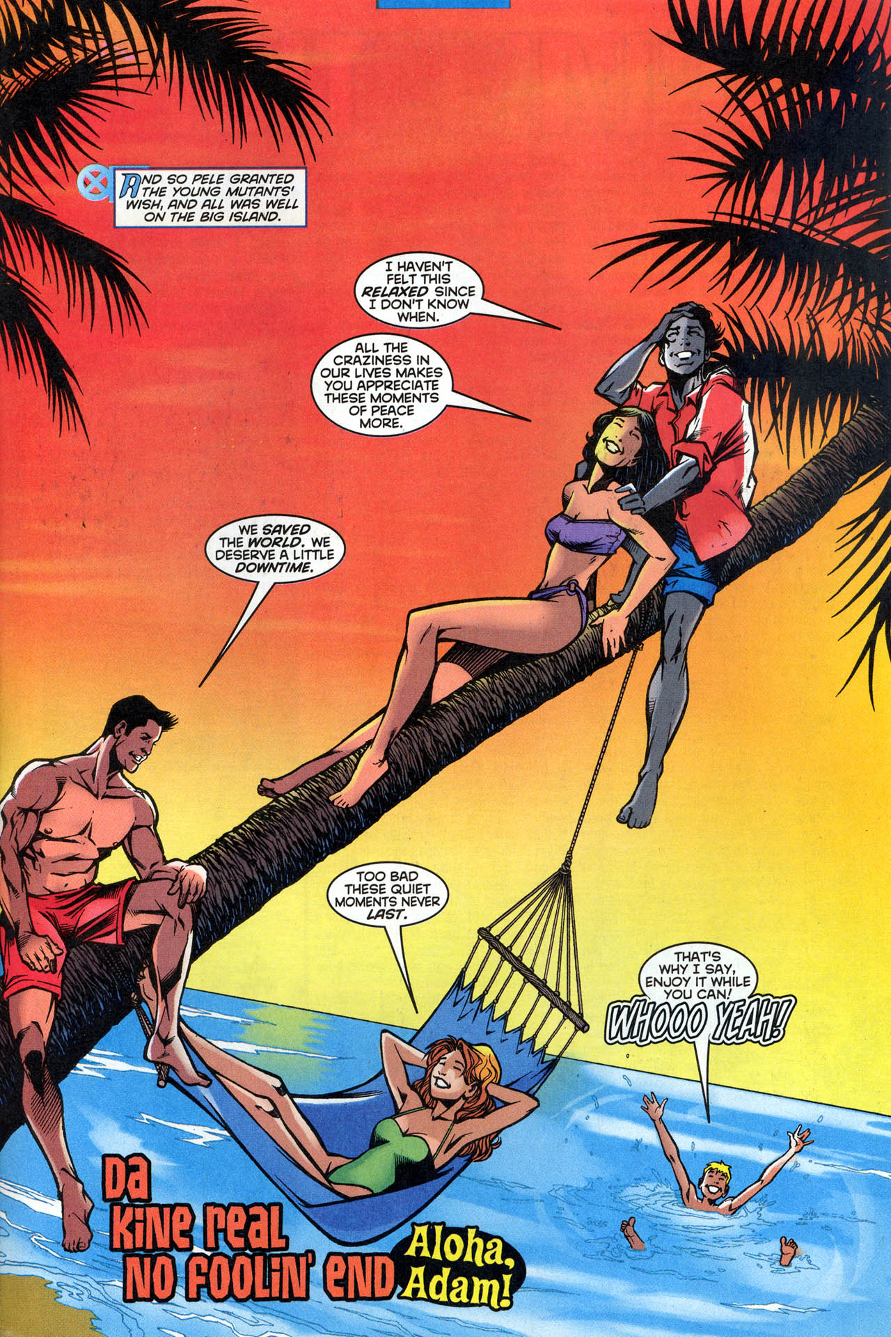 Read online X-Force (1991) comic -  Issue #81 - 35