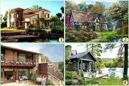 Тест: какой дом Вам нравится, такой и мужчина Вам нужен