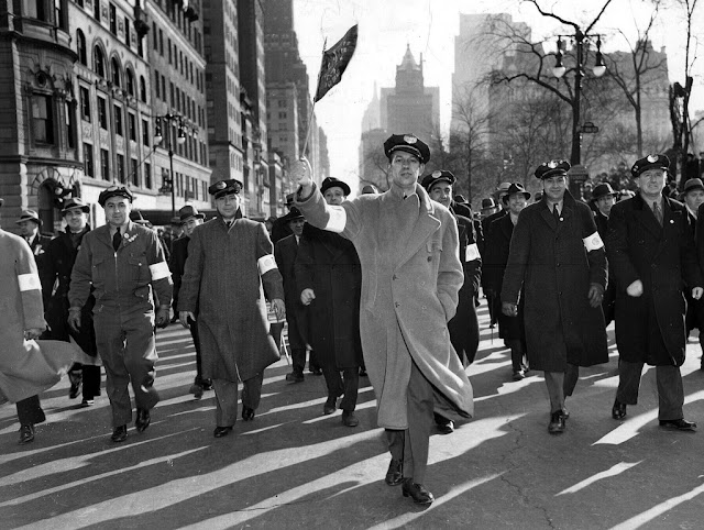 10 March 1941 worldwartwo.filminspector.com Transport Workers strike NYC