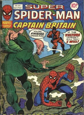 Super Spider-Man and Captain Britain #241, the Vulture and the Hitman