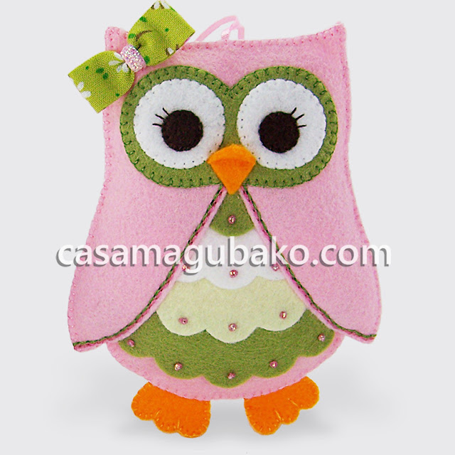 Owl Ornament by casamagubako.com