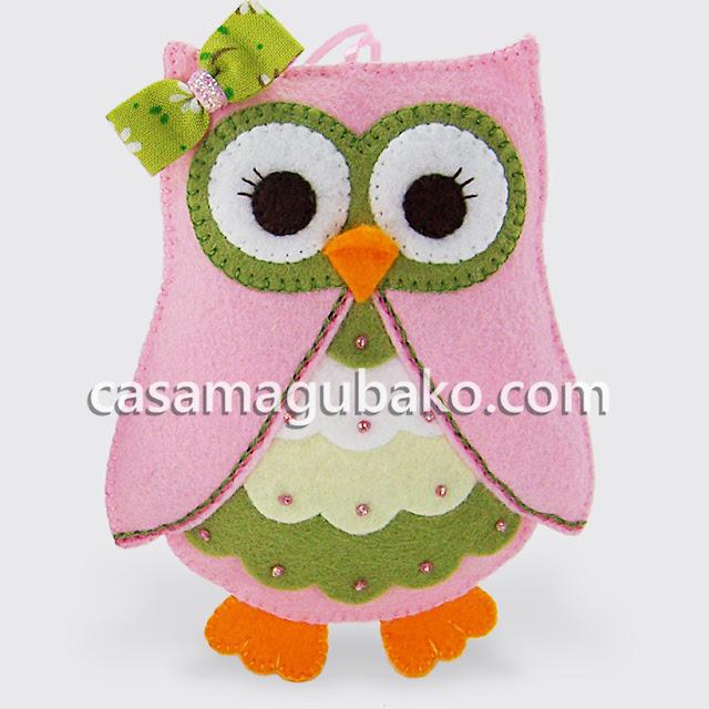 Owl Ornament by casamagubako.com
