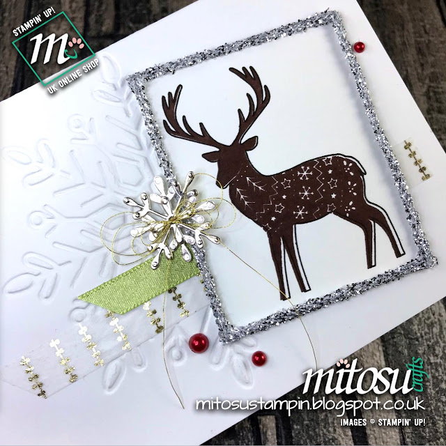 Paper Craft Crew Card Sketch Challenge #PCC272 using Stampin' Up! products. Order from Mitosu Crafts UK Online Shop