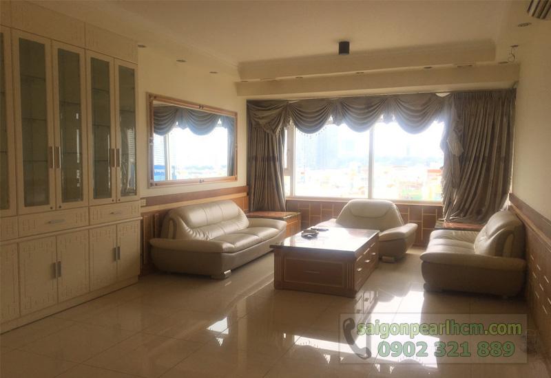 Saigon Searl Sapphire 2 cho thuê - phòng khách