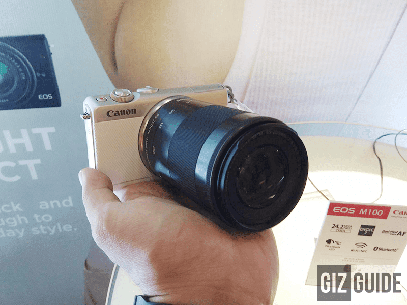 Canon EOS M100 goes official in the Philippines for PHP 33,998!