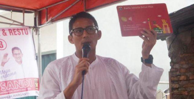 Rp 300 Juta dari Sandiaga untuk Modal Usaha Warga Jakarta, Mau?