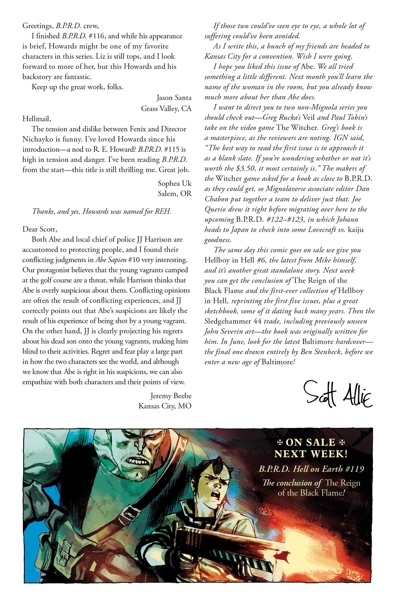 Read online Abe Sapien comic -  Issue #12 - 26