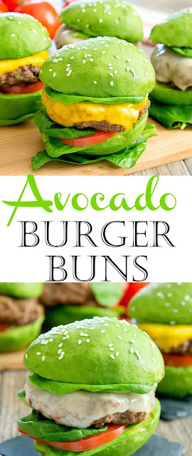 AVOCADO BURGER BUNS