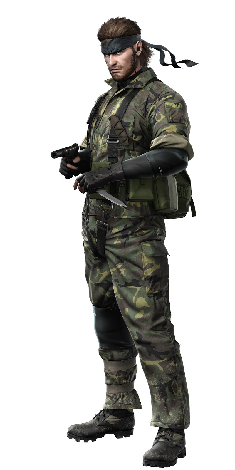 Cosplay Guides Metal Gear Solid 3 Snake Eater Naked Snake -6012