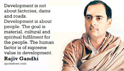 Rajiv Gandhi Quotes and Messages