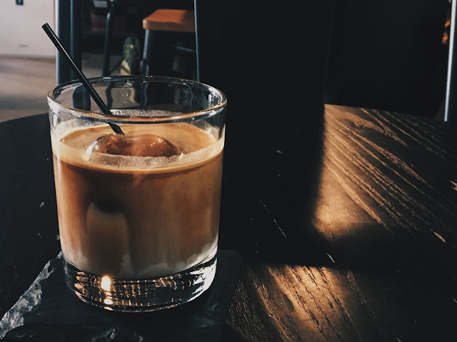 the tiny roaster iced latte coffee review