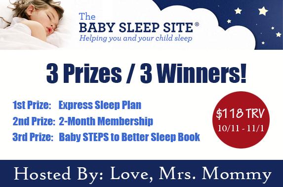 The Baby Sleep Site Giveaway