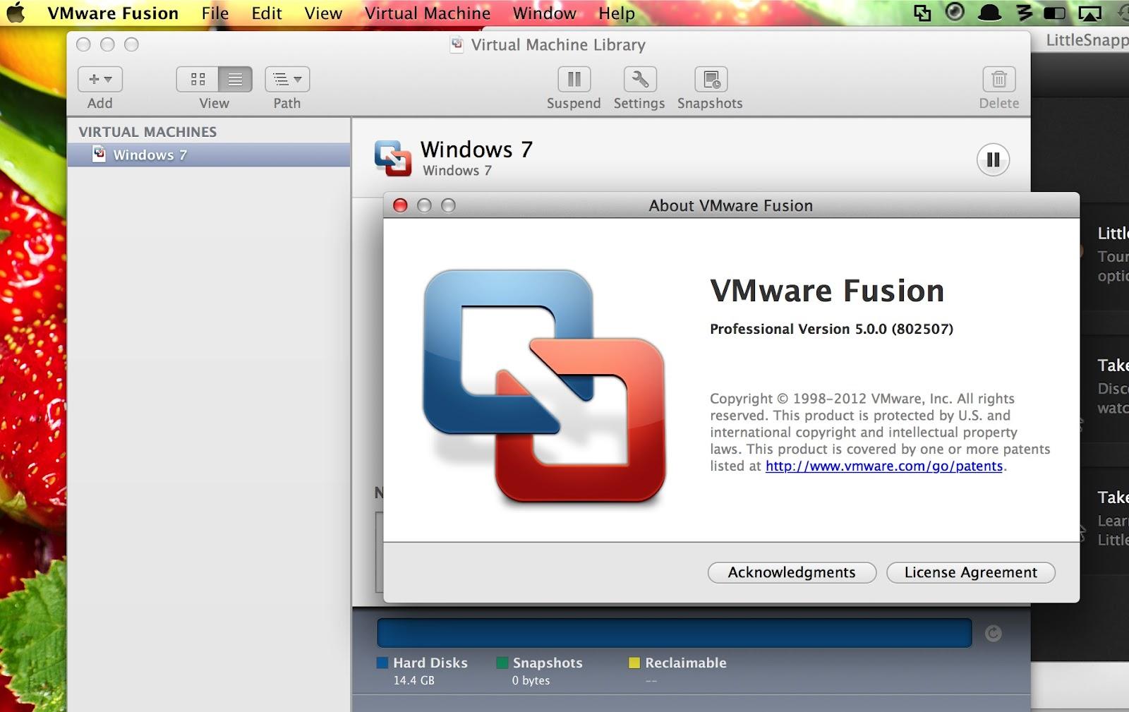 vmware fusion usb 3.0