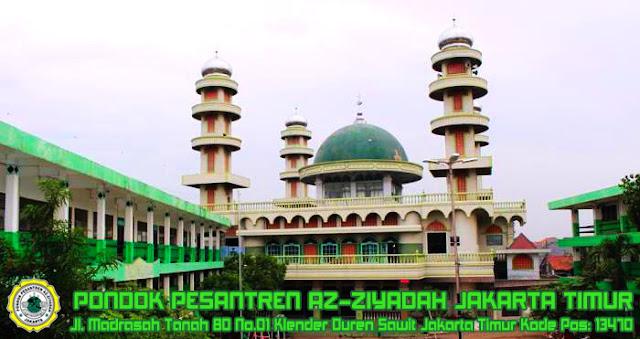 PONDOK PESANTREN AZ-ZIYADAH KLENDER DUREN SAWIT JAKARTA TIMUR