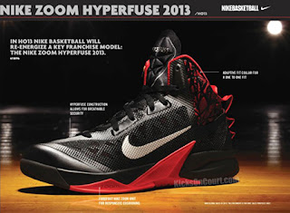 NBA 2K13 Nike Hyperfuse 2013 Shoes Mod