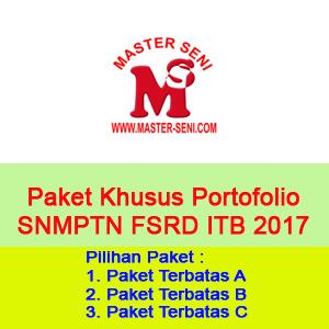 Paket Khusus SNMPTN FSRD ITB 2017 - Paket Terbatas A, B, dan C