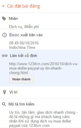 Cách soạn thảo và định dạng văn bản của 123itvn