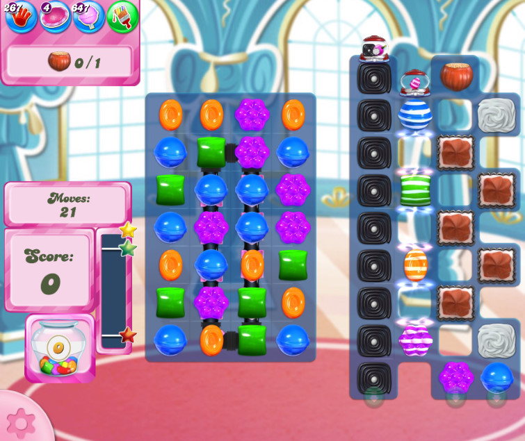 Candy Crush Saga level 2651