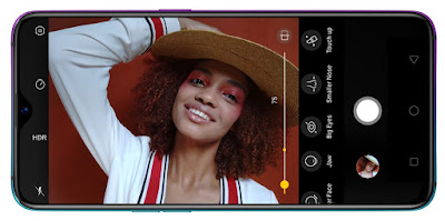 Define yourself on your own terms, with 25MP AI Beauty Camera Oppo R17 pro