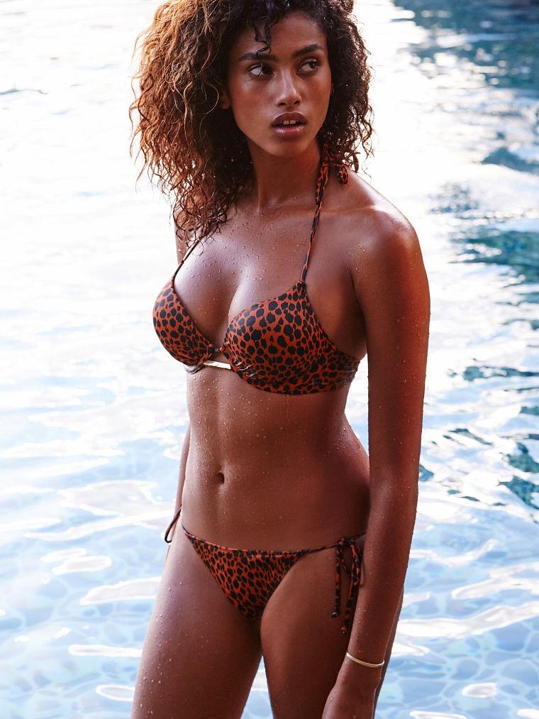 Imaan Hammam Flaunts Bikinis For The Victoria S Secret