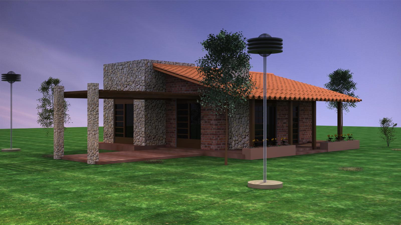 Cherirada fotos de fachadas de casas modernas pequenas - Casas pequenas de campo ...