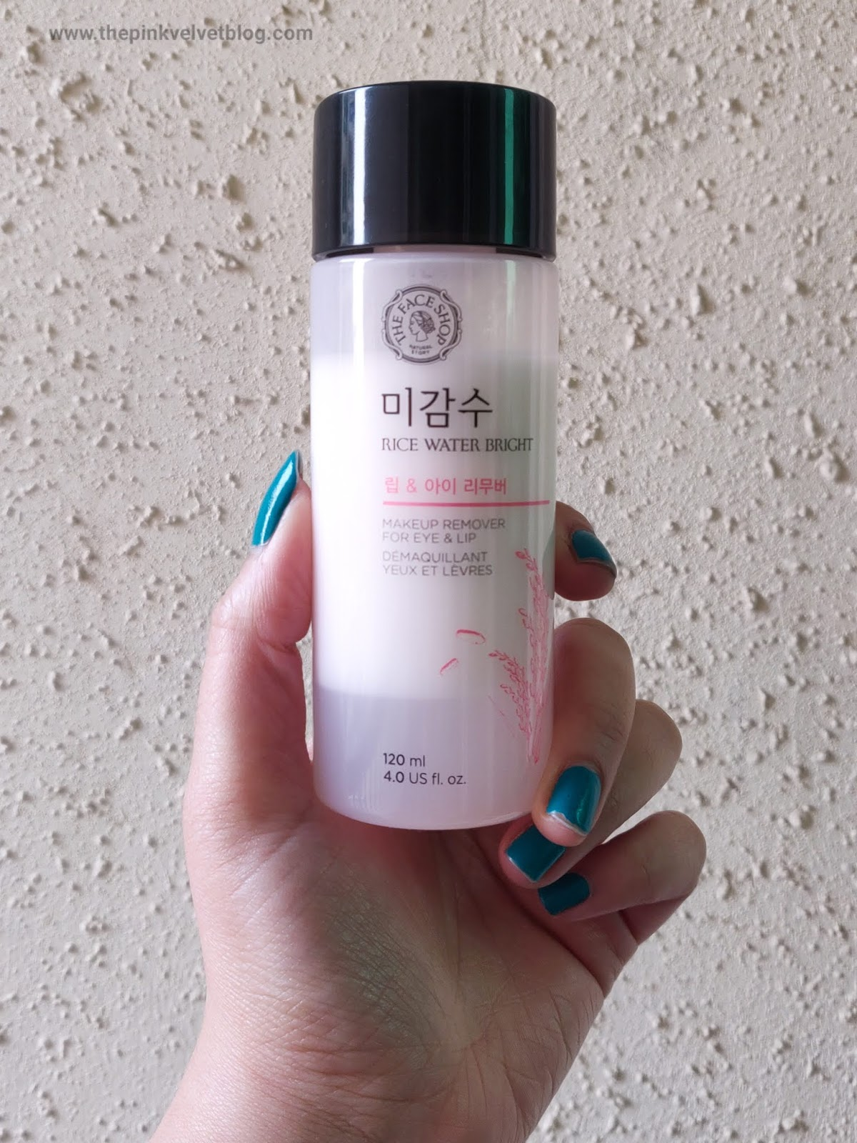 The Face Shop Rice Water Bright Bi-Phase Makeup Remover Review