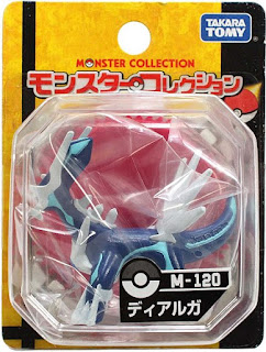 Dialga figure Takara Tomy Monster Collection M series