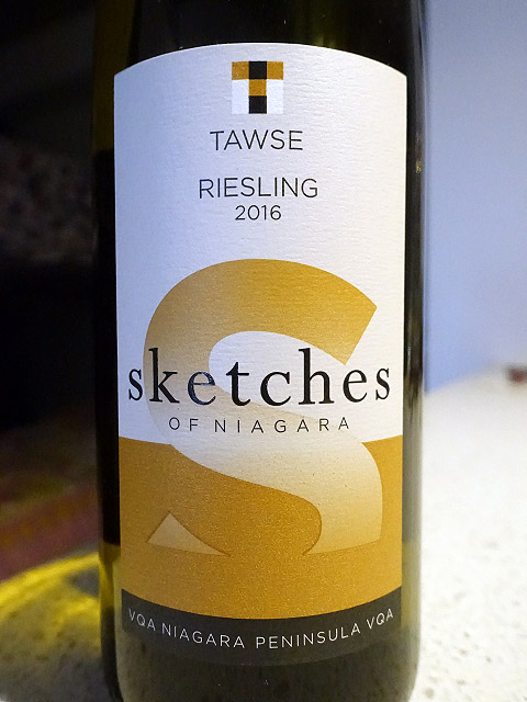 Tawse Sketches of Niagara Riesling 2016 (90 pts)