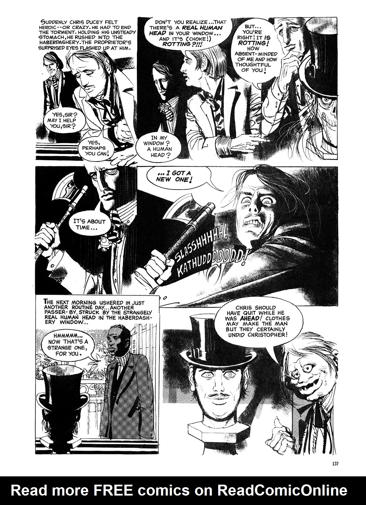 Read online Eerie Archives comic -  Issue # TPB 8 - 138