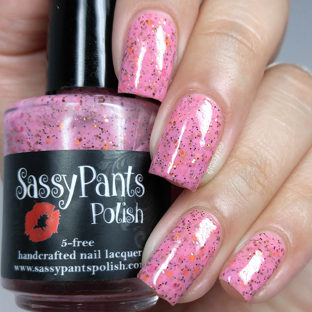 Sassy Pants Polish - Cranberry Streusel Cake