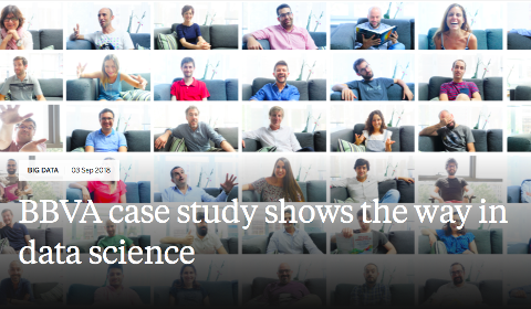 BBVA case study shows the way in data science