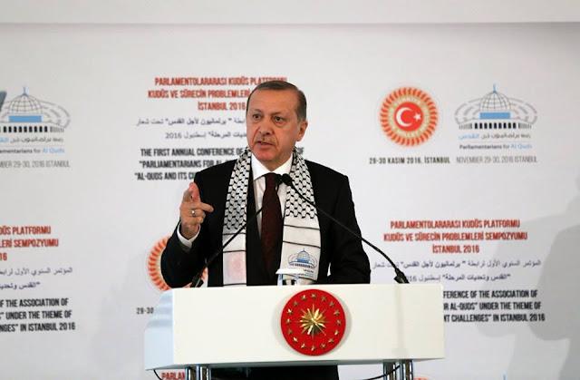 أردوغان: نعدكم بأن نبذل كل ما بوسعنا من أجل القدس كما فعل آباؤنا وأجدادنا