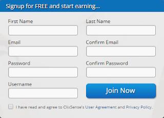 Como registrarse Clixsense