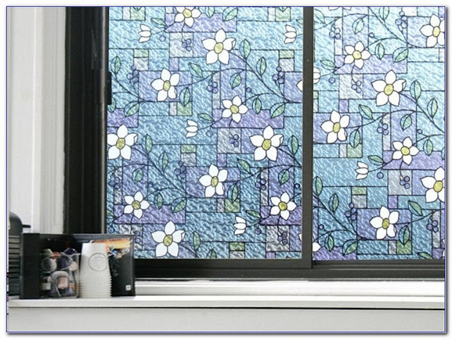 Decorative Stained GLASS WINDOW Tint Film for sale
