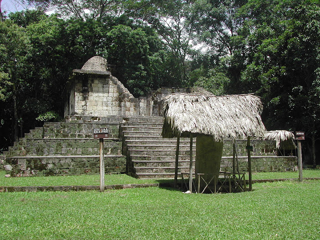 Ruins at Ceibal, Guatemala