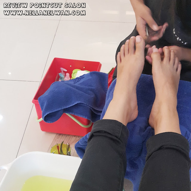 pedicure pointcut salon by irwan team review nellanelwan